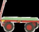 Transportvagn, 4-hjulsstyrd