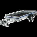 Släpvagn, totalvikt 750 kg, bromsad