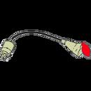 Övergång, 380 V 16 amp spisuttag