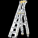 Trappstege 5 steg, plattformshöjd 1,22 meter