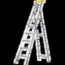 Trappstege 6 steg, plattformshöjd 1,47 meter
